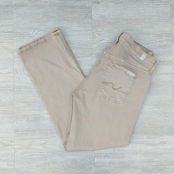 7 For All Mankind Denim - 7 For All Mankind crop flare